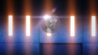 Ep 4 re-air: The trinket has some light reflecting off it.